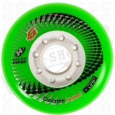 1 roue Hyper Concrete green 80mm/84A