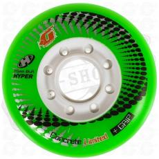 1 roue Hyper Concrete green 76mm/84A