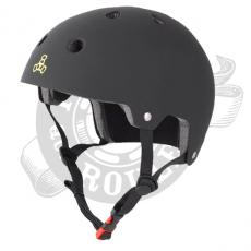 Casque Triple Eight Brainsaver All matt black