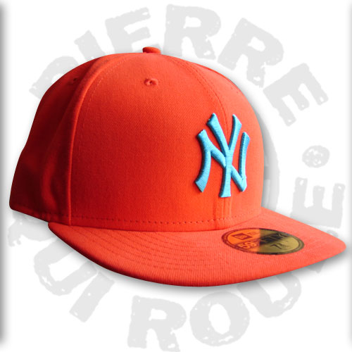New Era Kids Cont MLB Neyan Orange Vice blue