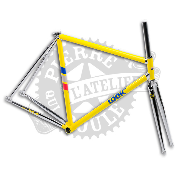 cadre look ac364 yellow qui roule