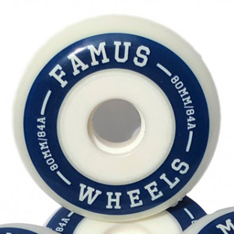1 roue Famus Freeride 80mm/84A