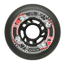 1 roue Fr Street King 76mm/85A