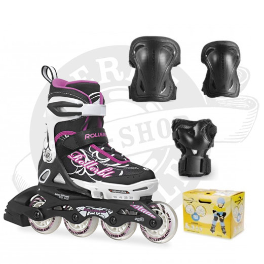 Rollerblade Spitfire Combo noir/pourpre